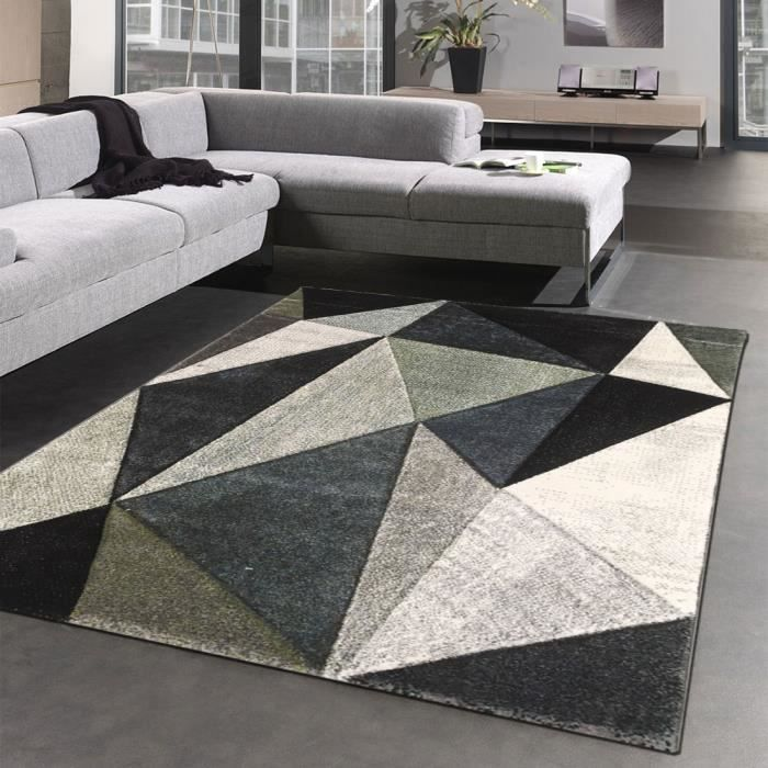 tapis sejour original belo 14 gris 120x170 par unamourdetapis tapis moderne achat vente. Black Bedroom Furniture Sets. Home Design Ideas