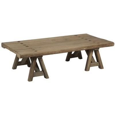 table basse en bois orme recycl achat vente table. Black Bedroom Furniture Sets. Home Design Ideas