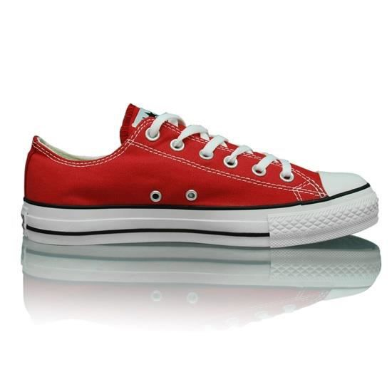 converse all star basse rouge