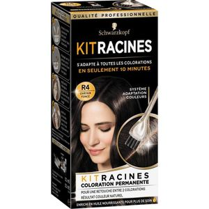 COLORATION SCHWARZKOPF Coloration permanente Kit racines - 11