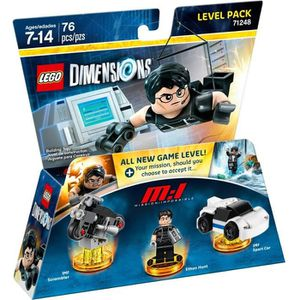 FIGURINE DE JEU LEGO Dimensions - Pack Aventure - Mission Impossib