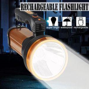 LAMPE DE POCHE ss-33-TEMPSA LED Lampe Torche USB Rechargeable Imp