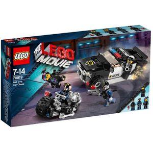 ASSEMBLAGE CONSTRUCTION LEGO Movie 70819 La course-poursuite Méchant Flic