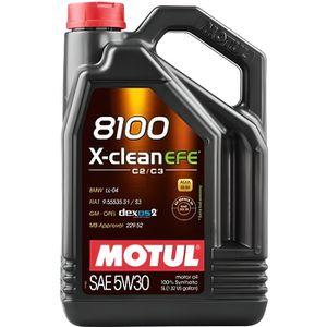HUILE MOTEUR MOTUL Huile  8100 X-CLEAN EFE5W30 5L (bidon)