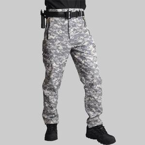 PANTALON SPORT MONTAGNE Pantalon Softshell tactique homme camouflage milit