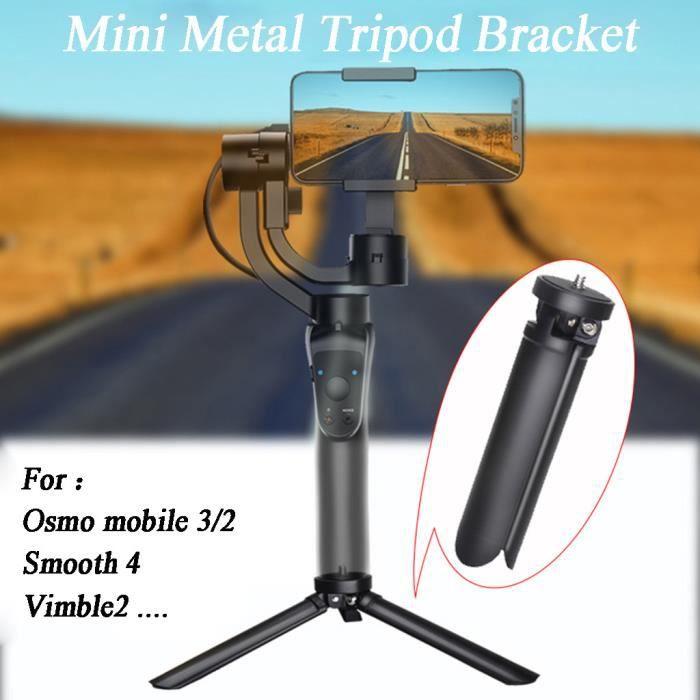 Mini-métal Trépied support pour table DJI Osmo mobile 3 1-4 Montage à vis drone accessoires 65