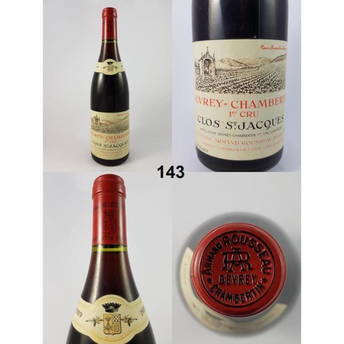 Gevrey-Chambertin - Clos-Saint-Jacques - Rousseau 1989 - N° : 143, Gevrey-Chambertin, Rouge