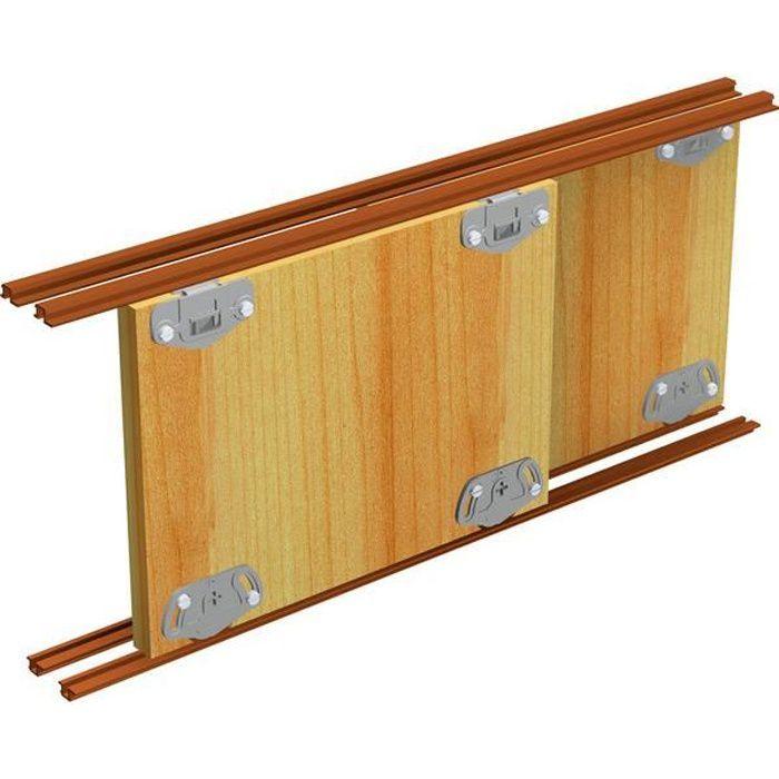 Garniture porte coulissante pico 13-7kg a encastrer
