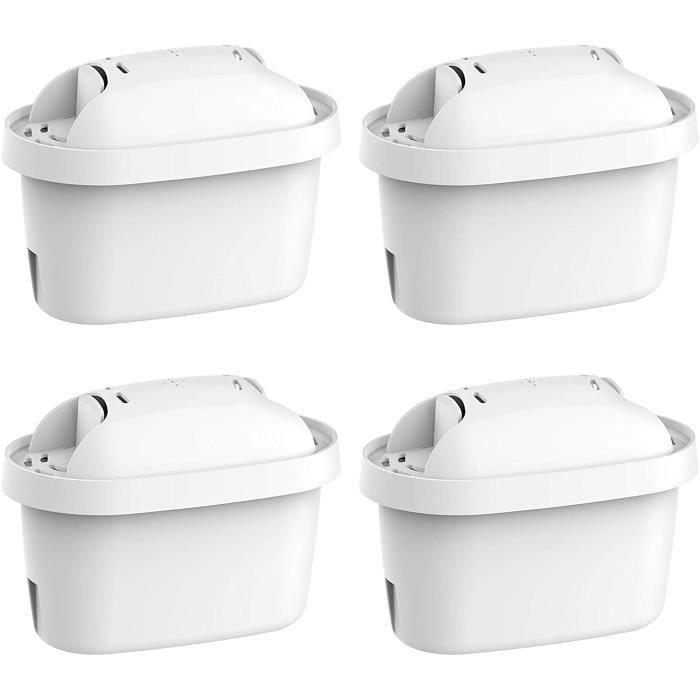Waterdrop TÜV SÜD, NSF Certifiée Cartouche Filtrante, Compatible avec Brita Maxtra Style, Marella Cool, Mavea, Elemaris XL, Fun (4)