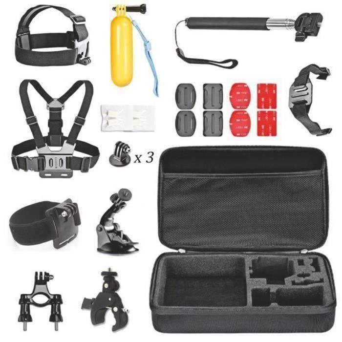 Kit Accessoires Caméras Sports pour GoPro Hero Meg66197