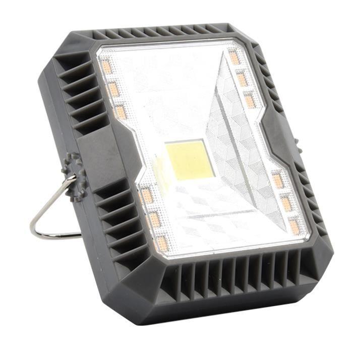 BJU Lanterne Portable solaire charge Spelunking Sports de plein air lampe de poche Camping lumière jardin voyage USB Rechargeable