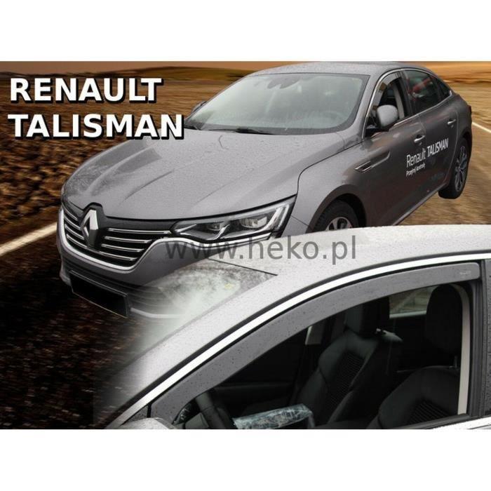 - Deflecteurs d'Air déflecteurs de vent Compatible avec Renault Talisman 4/5 Portes 2016-prés 2 pièces