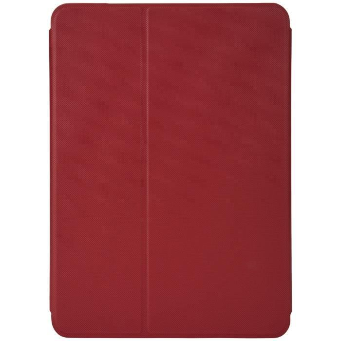 CASE LOGIC Etui folio Snapview pour iPad Pro 10.5- 2017 - Rouge