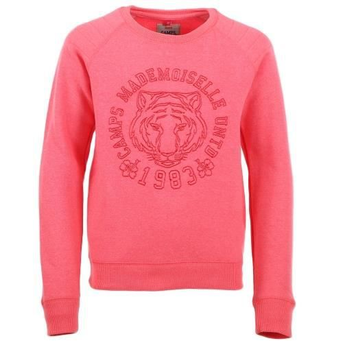 CAMPS Sweat Camps Girl Tiger Enfant Fille