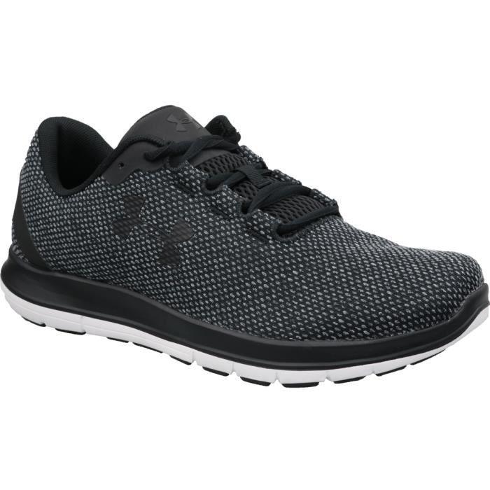 Under Armour Remix FW18 3020345-001 chaussures de running pour homme Noir