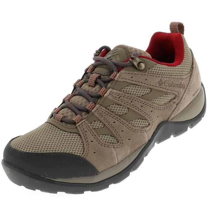 Chaussures marche randonnées Redmond brown wp l - Columbia