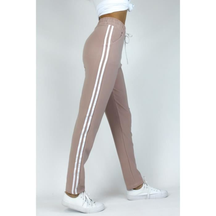 Pantalon jogging de sport Femme Rose
