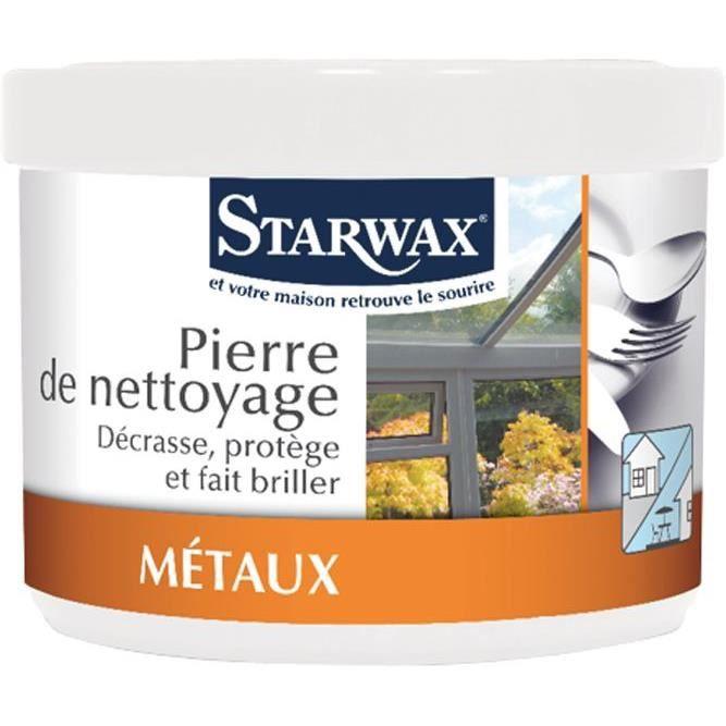 STARWAX Pierre de nettoyage métaux - 300g