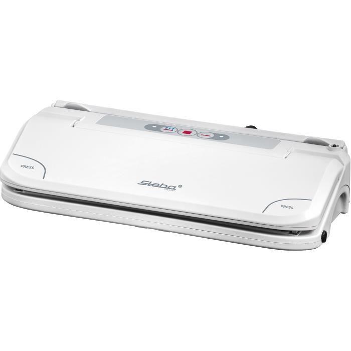 STEBA 050500 VK5 Machine à vide d'air - Pour films et sacs jusqu'à 30 cm - Blanc