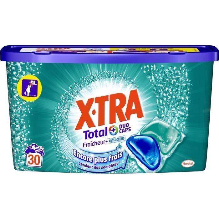 X•TRA Fraîcheur+ Duo caps - 30 doses