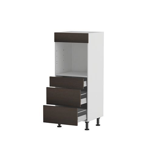 meuble cuisine demi colonne four 60 140 3 tiroi achat vente l ments colonne meuble cuisine. Black Bedroom Furniture Sets. Home Design Ideas