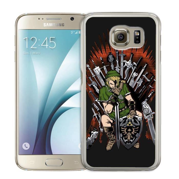 Coque Samsung Galaxy S5 Mini Zelda x Game of Thron