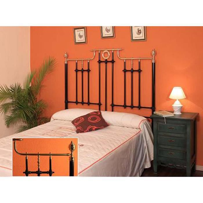 lits et t tes de lit en laiton et fer forg mod le cergy t te de lit couleurs choisir pour. Black Bedroom Furniture Sets. Home Design Ideas