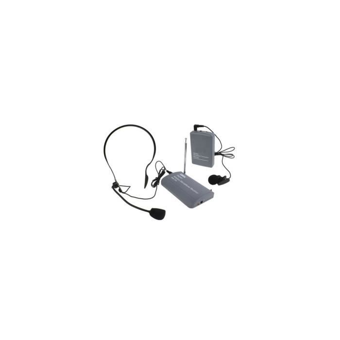 Microphone - Wireless Sans Fil / Clip-on Casque (sh-600)