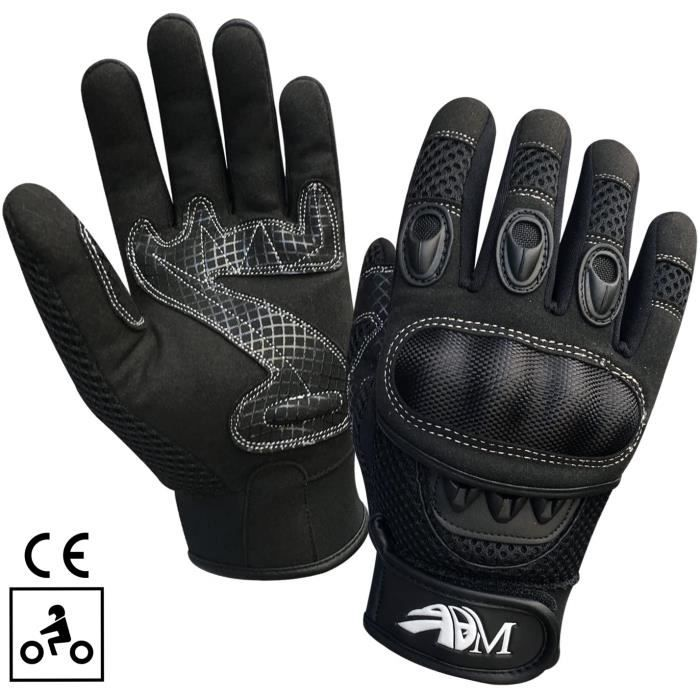gants protection moto mi saison noir m achat vente gants sous gants gants protection moto. Black Bedroom Furniture Sets. Home Design Ideas