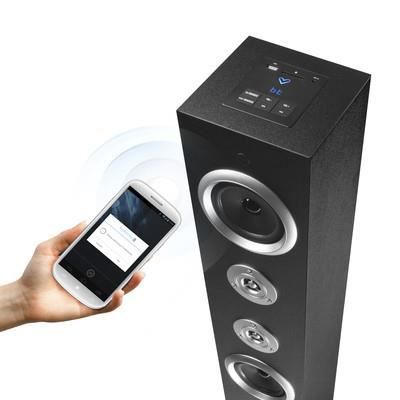 tour haut parleur bluetooth usb sd 20w achat vente enceinte nomade tour haut parleur. Black Bedroom Furniture Sets. Home Design Ideas