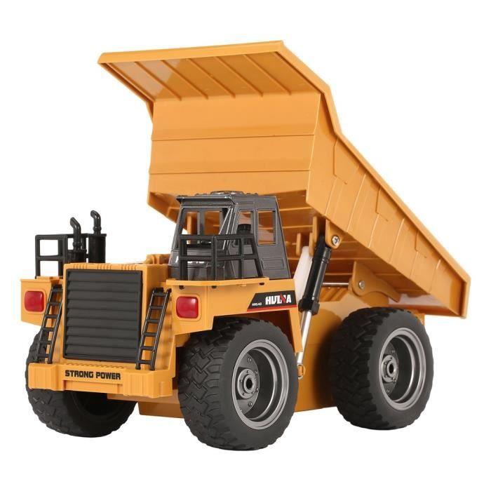 VOITURE - CAMION HUINA 1540 1-18 6CH RC Camion à benne basculante C