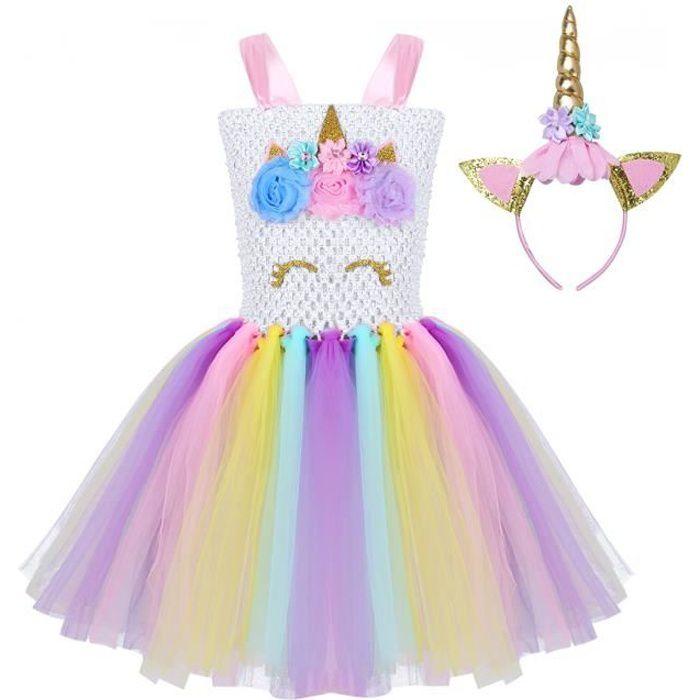 CHICTRY Serre-t/ête de Sir/ène d/éguisement Licorne Enfant Bandeau paillet/é Accessoire de Anniversaire F/ête pour B/éb/é Fille Carnaval