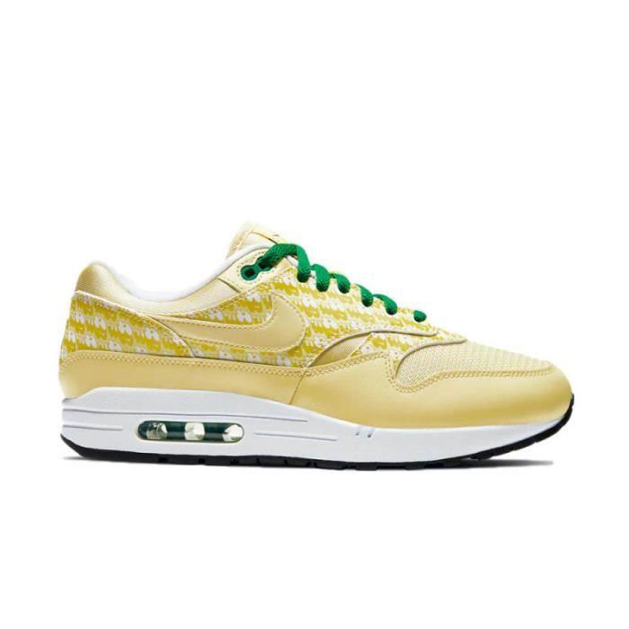 Baskets Nike Air Max 1 Lemonade Jaune - Cdiscount Chaussures
