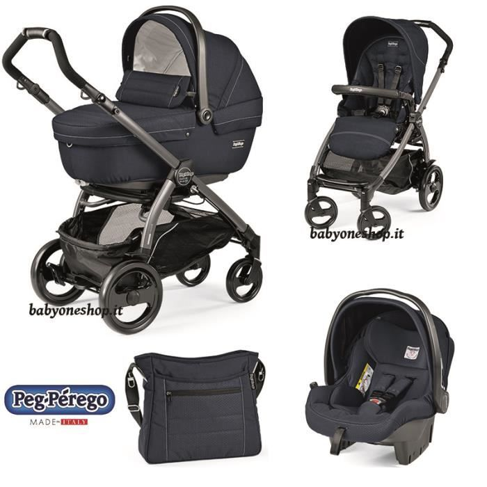 poussette trio peg perego book plus