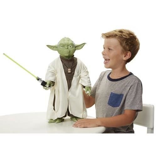 star wars figurine de yoda 50 cm achat vente figurine. Black Bedroom Furniture Sets. Home Design Ideas