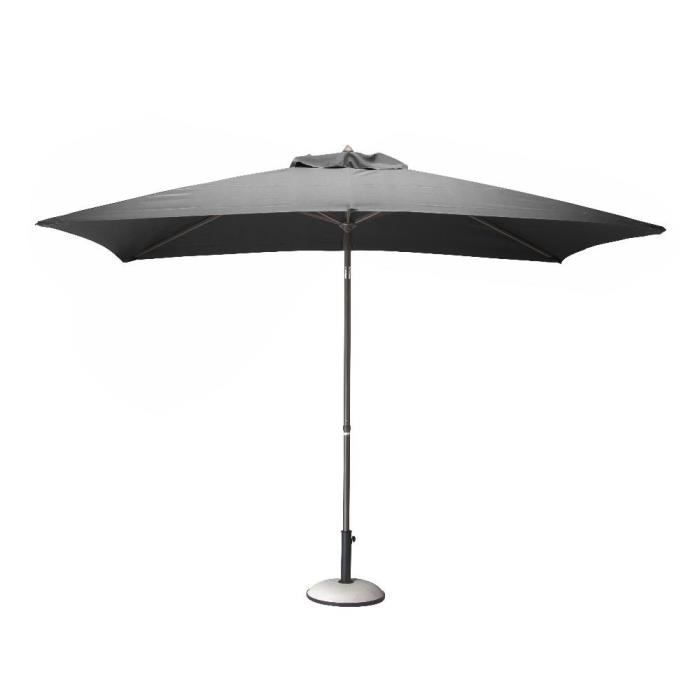 parasol alu 3x2 inclinable grey achat vente parasol parasol alu 3x2 inclinable cdiscount. Black Bedroom Furniture Sets. Home Design Ideas
