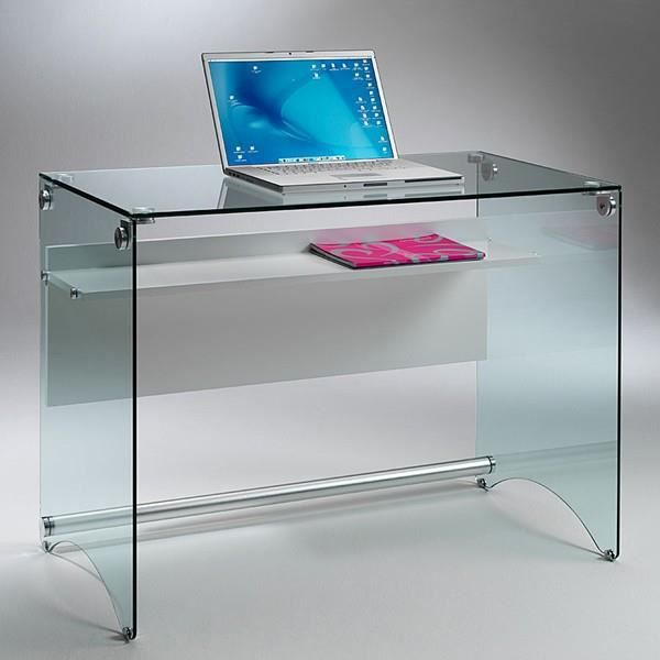 Bureau Multimedia Of Bureau Multim Dia Scrib Verre Tremp Transparent Achat
