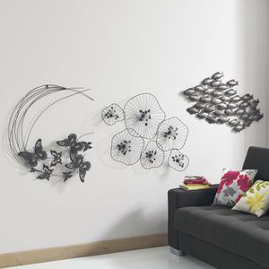Decoration murale en fer achat vente decoration murale - Decoration murale en fer ...