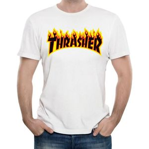 t shirt thrasher achat vente pas cher. Black Bedroom Furniture Sets. Home Design Ideas