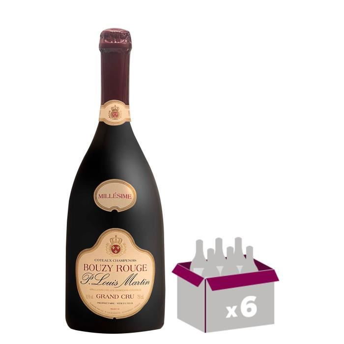 P. Louis Martin 2011 Bouzy Rouge Grand Cru - Vin des Coteaux Champenois x6