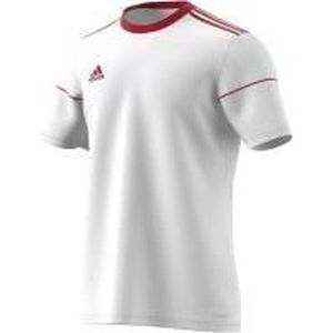 ADIDAS SQUAD 17 JSY SS Maillot de football junior - Blanc / Rouge