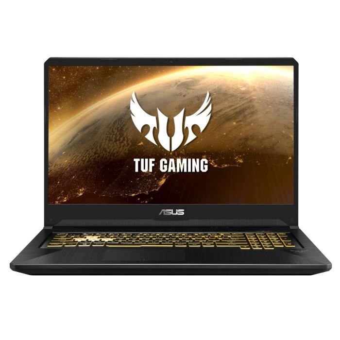 PC Portable Gamer - ASUS TUF765DU-AU081T- 17,3-FHD - Ryzen 7-3750H- RAM 16Go - Stockage 512Go SSD - GTX1660TI 6G + Windows 10