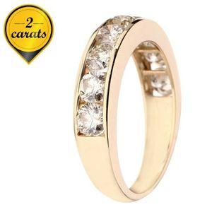 BAGUE - ANNEAU MONTE CARLO STAR Bague Or 750° et Diamant