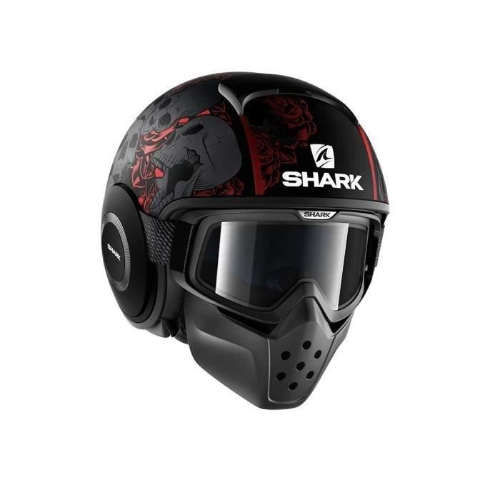 casque moto shark achat vente casque moto shark pas cher cdiscount. Black Bedroom Furniture Sets. Home Design Ideas
