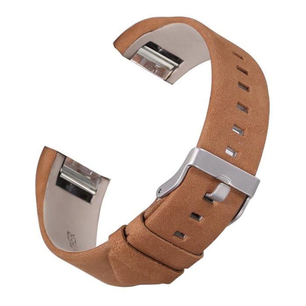 bracelet cuir fitbit charge2
