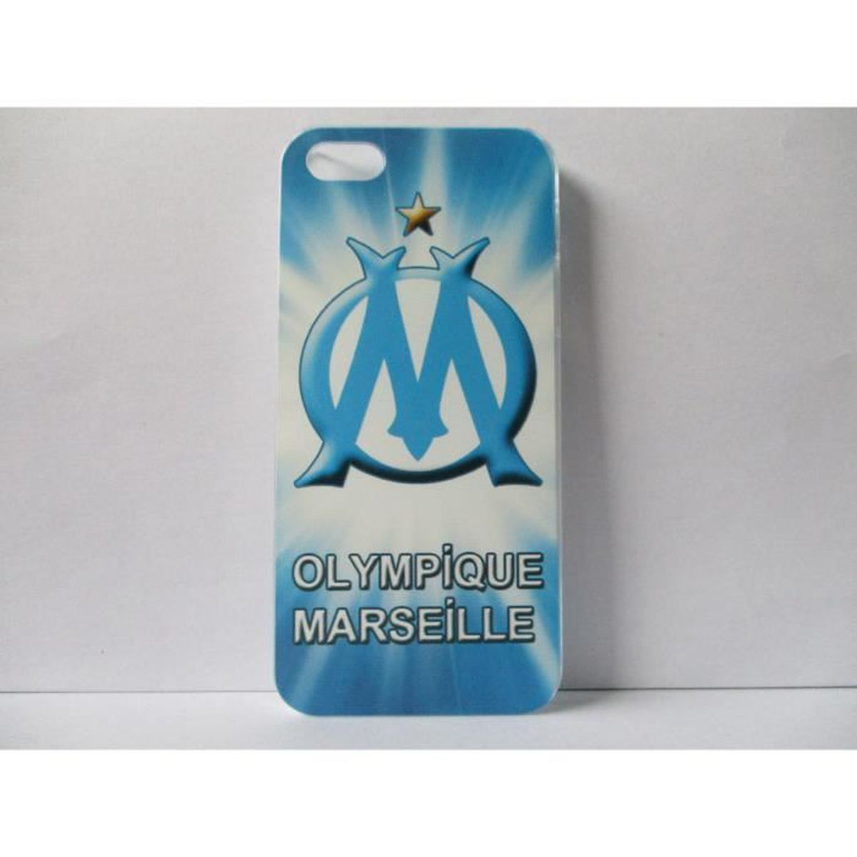 coque om marseille iphone 5 5s se neuf motif b achat. Black Bedroom Furniture Sets. Home Design Ideas