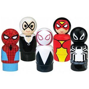 FIGURINE - PERSONNAGE Figurine Miniature Spider-man Pin Maté Figure en b