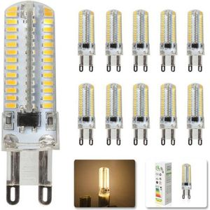 AMPOULE - LED 10X G9 Ampoule LED 6.5W Lampe LED Super Lumineux S