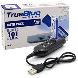 PACK ACCESSOIRE True Blue Mini Meth Pack - 64Go - 101 Jeux avec Un