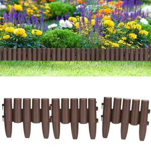BORDURE Set Bordure de jardin, rebord de jardin - 2x 8 Pal